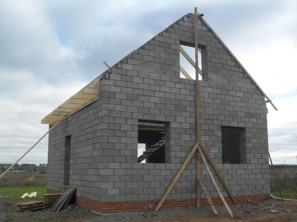 Строительство домов монолитного из керамзитобетона керамзитобетон конструкционный